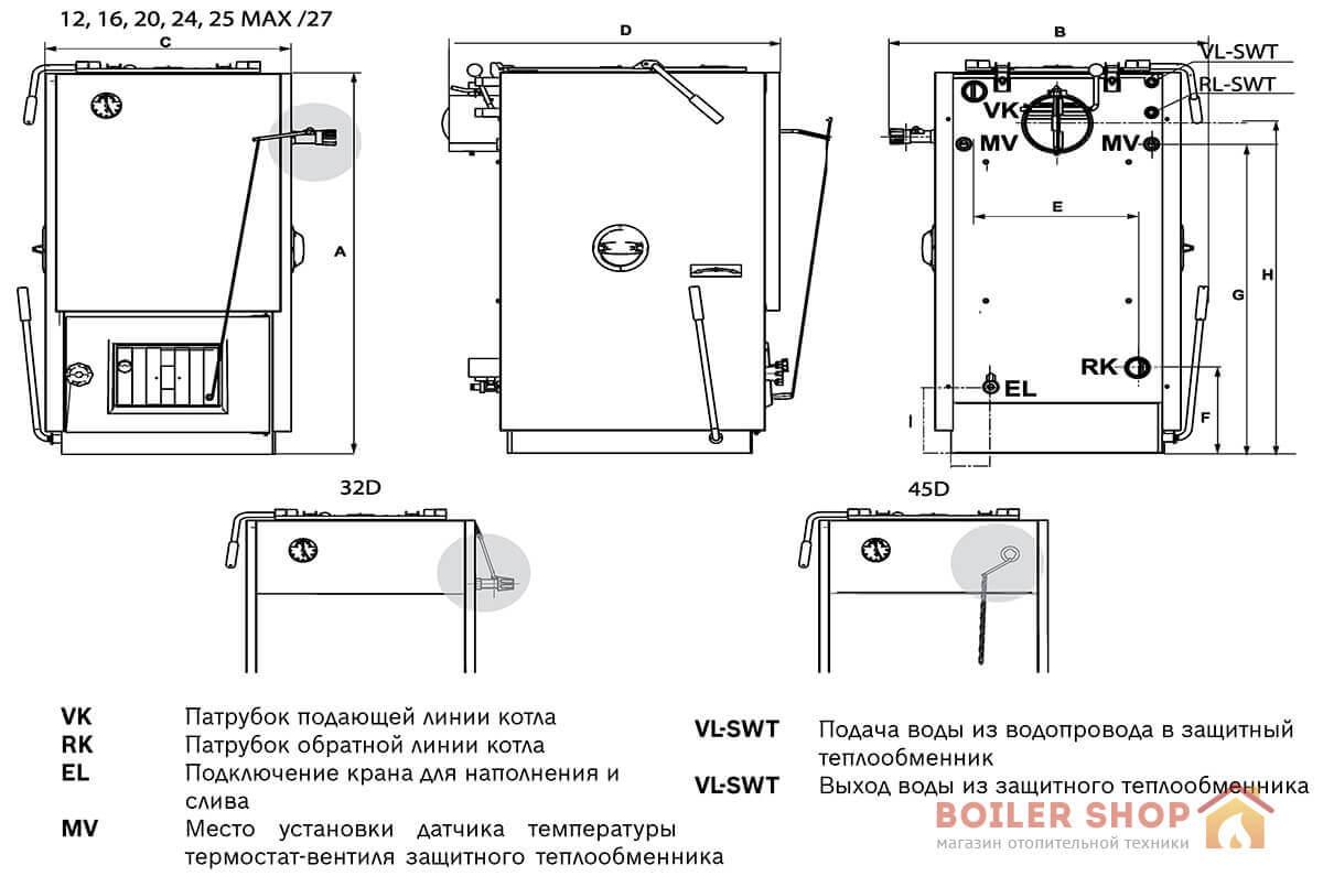 Теплообменник для твердотопливного котла б у Кожухотрубный конденсатор ONDA C 17.305.1000 Тюмень