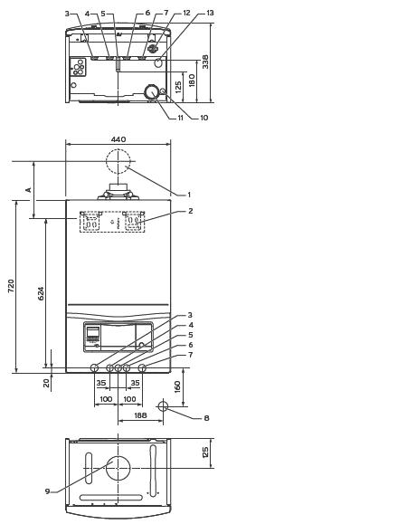 Настенный конденсационный газовый котел