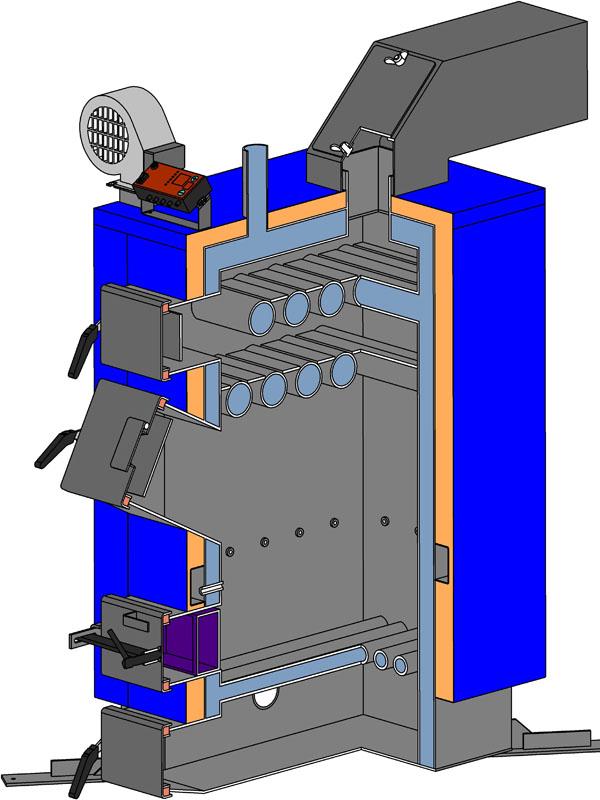 НЕУС-Вичлаз мощность 10 — 44 кВт.